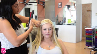 Seamless Clip In Hair Extensions - Amazing Transformation | Instant Beauty ♡