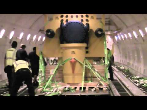 Boeing 747 freighter loading cargo - Air Charter Service