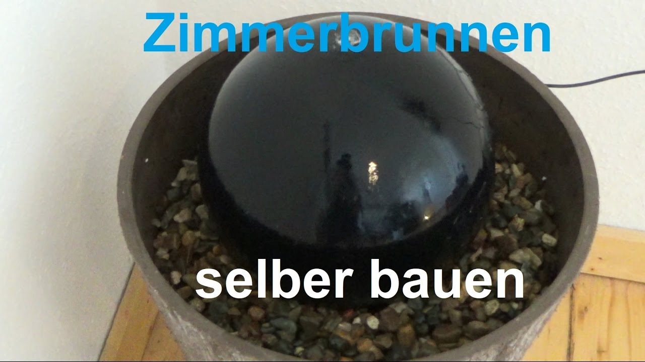 diy zimmerbrunnen selber bauen brunnen selber machen springbrunnen bauen basteln youtube. Black Bedroom Furniture Sets. Home Design Ideas