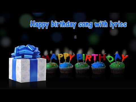 Happy Birthday cha cha cha song with lyrics HD