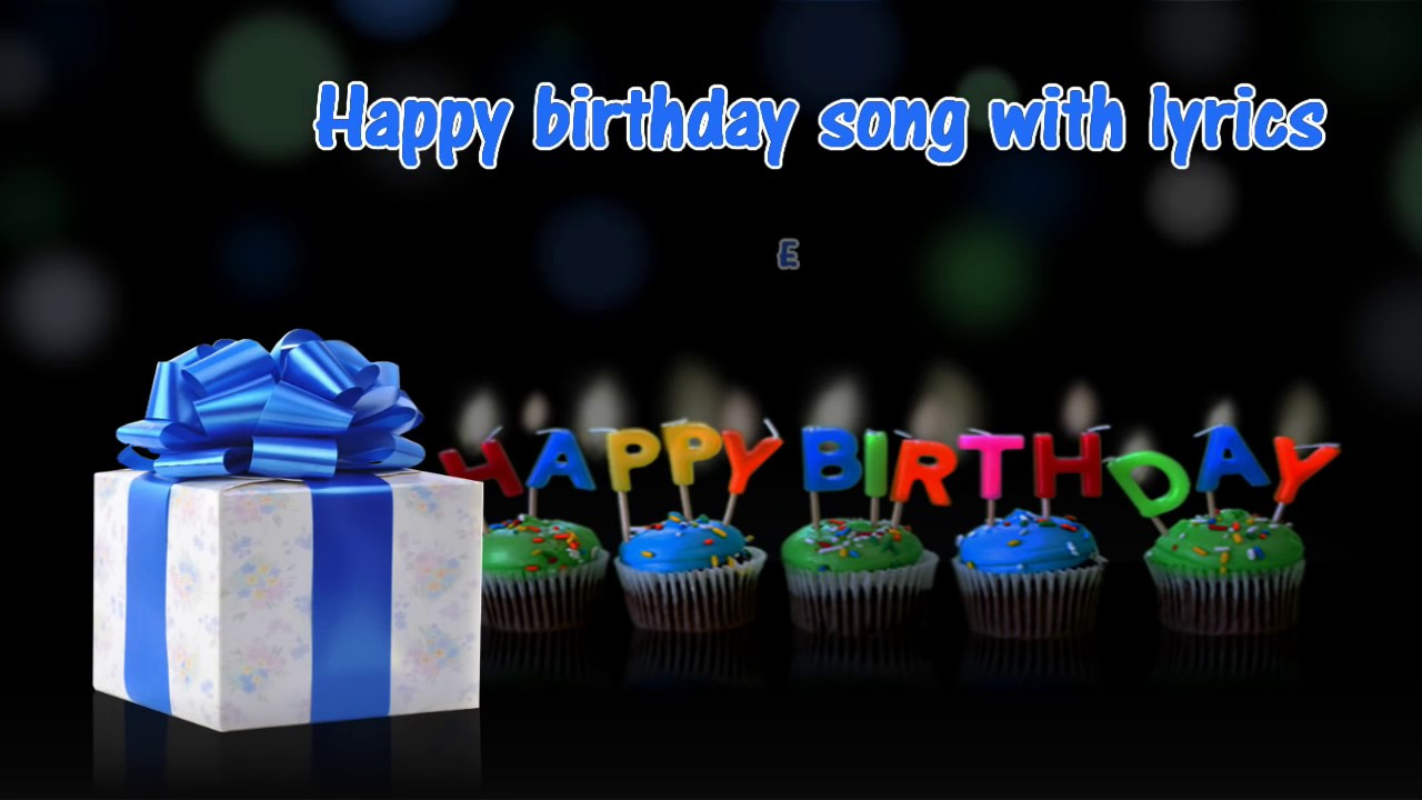Happy Birthday Cha Cha Cha Song With Lyrics Hd Youtube