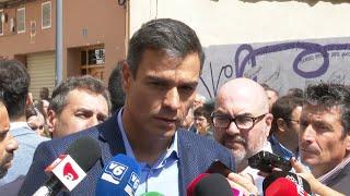 """Sánchez: """"No hay ningún obstáculo real para que PP y Cs se abstengan"""""""
