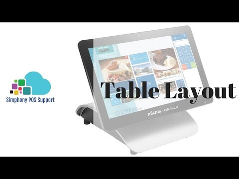 Table Layouts - Oracle Micros Simphony POS Training And Support