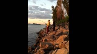 Fishing in montreal for monster 30 / рибалка на монстрика в монтреалі
