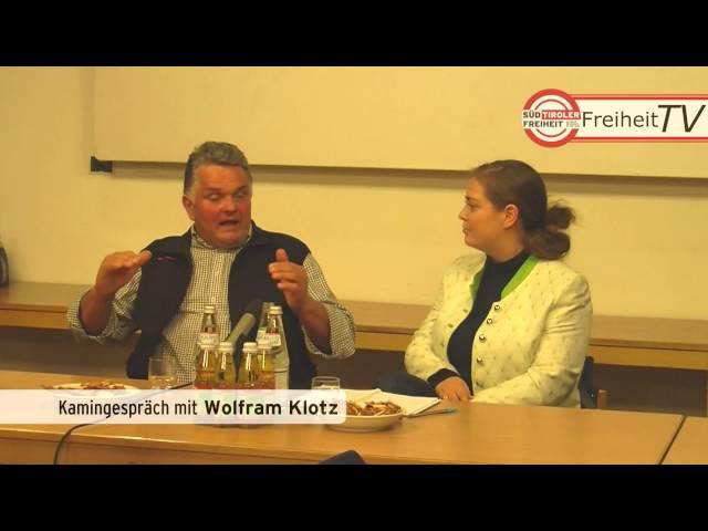 """Kamingespräch """"Huamet und Freiheit"""" mit Reinhild Campidell und Wolfram Klotz"""