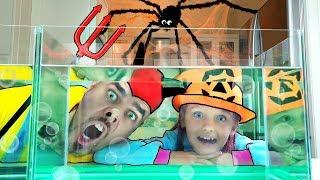 Sink or Float | Experimento Cool Science para niños | Halloween story con Mi Mi Kids
