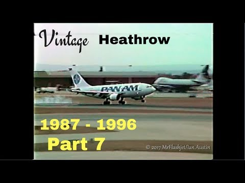 A Day at the Queens Building - Heathrow Airport 1987 - 1996) Part 7
