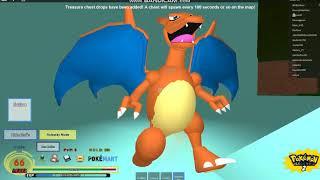 Super Put :D [Roblox / Pokemon Legends Mega Charizard x vs Charizard resultado terminó mal]