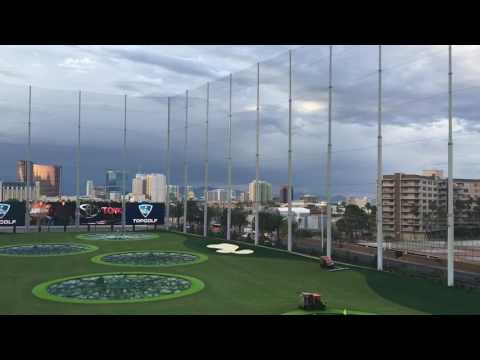 Topgolf Las Vegas Preview Tour Near MGM Grand Las Vegas 5-17-16
