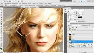Уроки фотошопа онлайн.