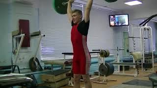 Коркин Данил, 14 лет, вк 77 Толчок 40 кг Новичок