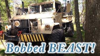 The Bobbed BEAST! Bobbed M35 Deuce - Denton Military Vehicle Show 2017