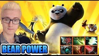 SUPER POWER of BEAR Master - Miracle- Dota 2 7.02