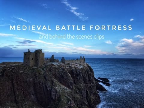 Medieval Battle Fortress - Dunnottar Castle & cut scenes