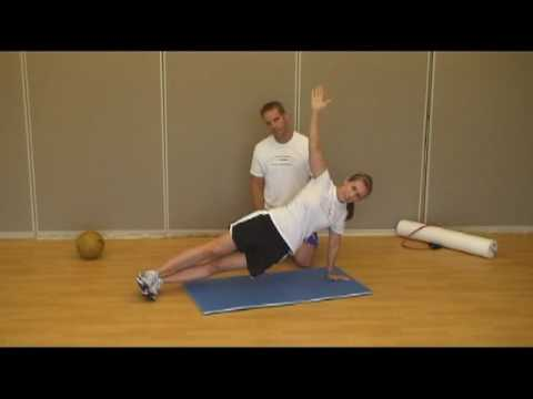 Side Plank Hip Dip