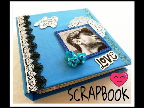 SCRAPBOOK    LOVE THEME    BIRTHDAY GIFT
