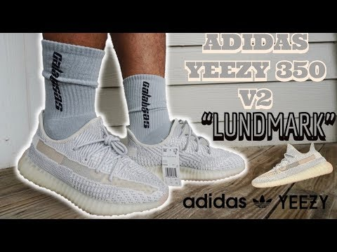 SOLD OUT INSTANTLY! ADIDAS YEEZY BOOST 350 V2 LUNDMARK REVIEW AND ON FOOT!!!
