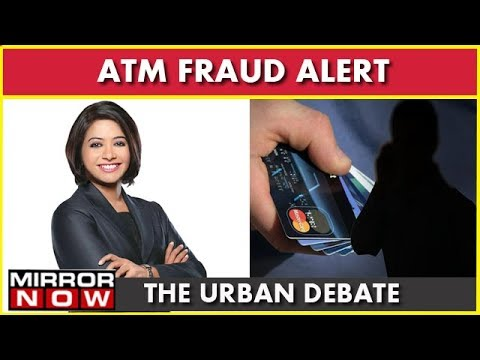 Atm Fraud: Camera, Skimmers Inside ATM's Tpo Steal I The Urban Debate With Faye D'Souza
