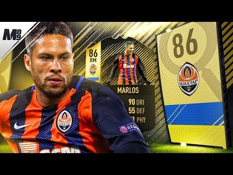 FIFA 18 SIF MARLOS REVIEW   86 SIF MARLOS PLAYER REVIEW   FIFA 18 ULTIMATE TEAM