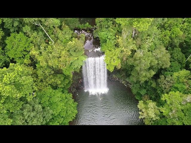 Millaa Millaa Falls Drone