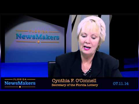 Florida NewsMakers: Florida Lottery Secretary Cynthia O'Connell