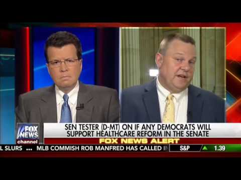 Democrat Sen. Jon Tester Says He's Open To Repealing And Replacing Obamacare