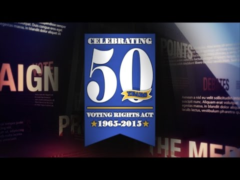 50th Anniversary of Voting Rights Act of 1965