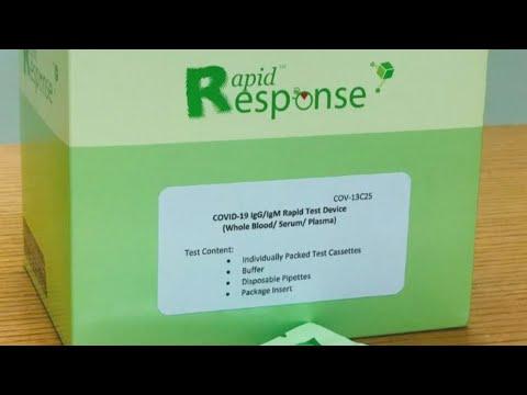 Canada refuses to approve rapid coronavirus blood test