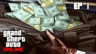 GTA Online 5 PC Создание персонажа, начало, обучение ч. 1