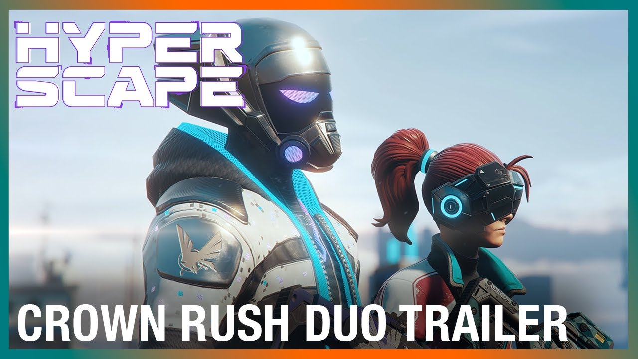 Hyper Scape: Limited-Time Game Mode | Crown Rush Duo Trailer | Ubisoft