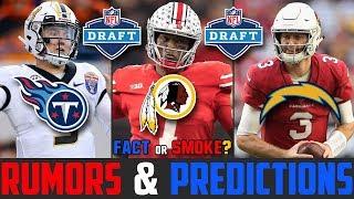 2019 NFL Draft RUMORS (2019 NFL Draft Predictions) Kyler Murray Dwayne Haskins Drew Lock