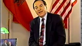 A New Beginning for Democracy for Albanians Joe DioGuardi 6-8-01