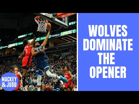 Minnesota Timberwolves DESTROY Houston Rockets