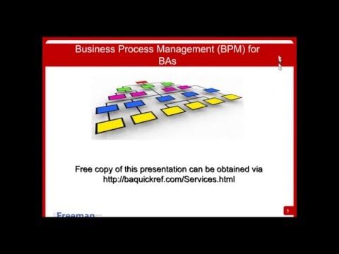 Business Process Management BPM for BAs Webinar