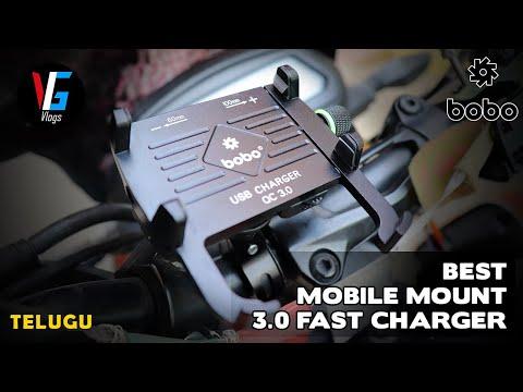 Best Mobile Holder For Bike || Bobo Claw Grip Aluminium Mobile Holder Telugu Motovlog
