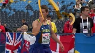 Владислав Мазур Золото Чемпіонат Європи