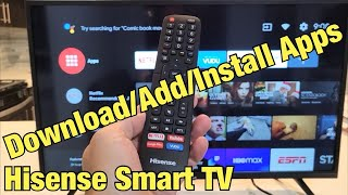 Hisense Smart TV: How to Download/Add Apps