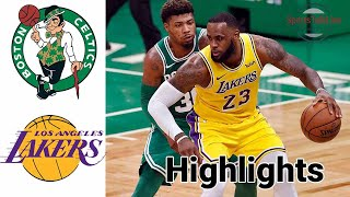 Celtics vs Lakers HIGHLIGHTS Full Game | NBA April 15