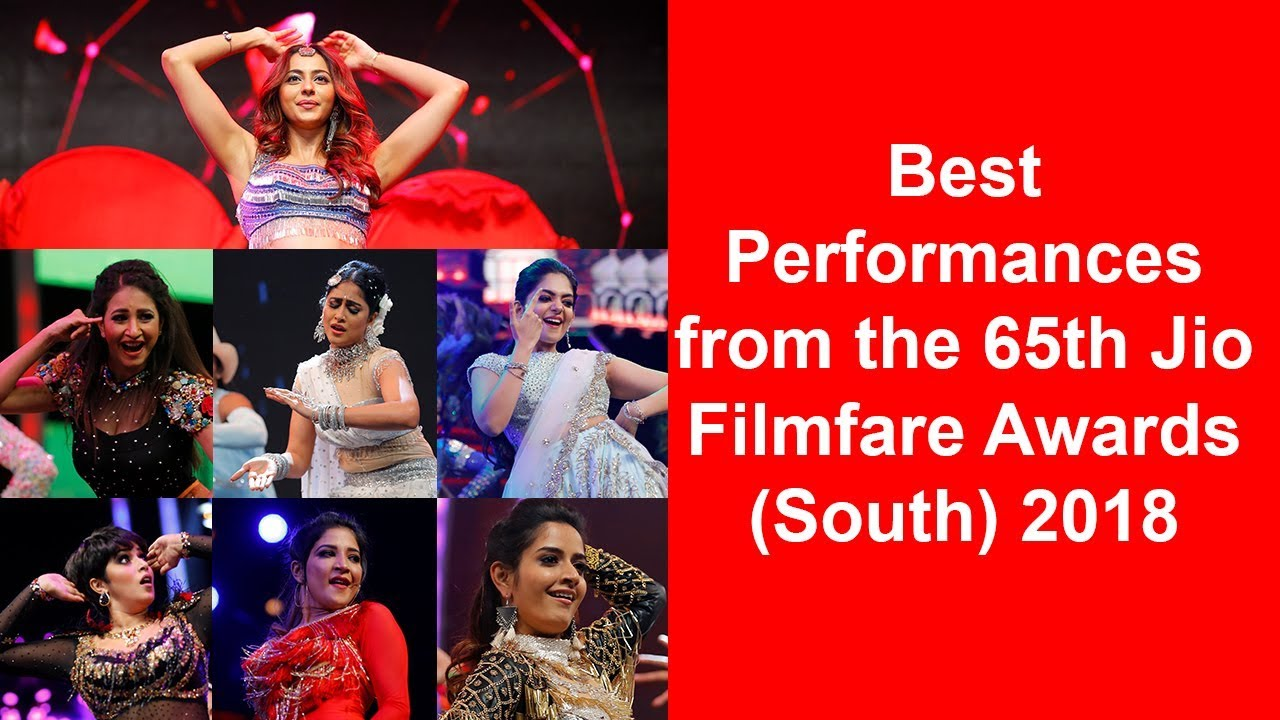 Best Performances | 65th Jio Filmfare Awards | 2018 | South | Pictures