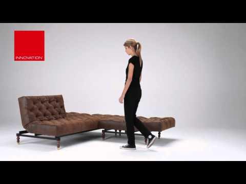 OLDSCHOOL Schlafsofa & Sessel von Innovation