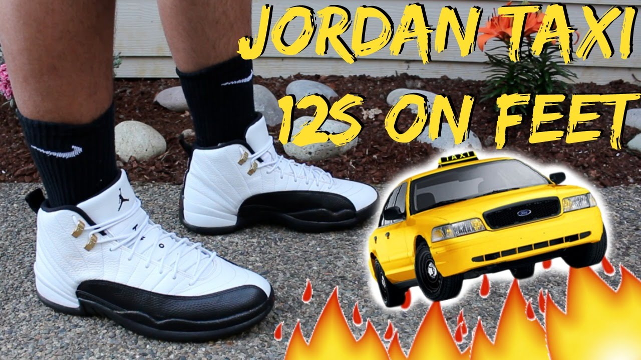 timeless design 1f3e3 9c9a1 ... reduced jordan taxi 12 on feet detailed look hd youtube a96ee 0b849