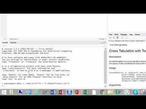 Categorical Data Analysis in R
