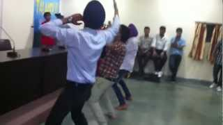 Bhangra Performance For Talent Hunt in Rimt College HD