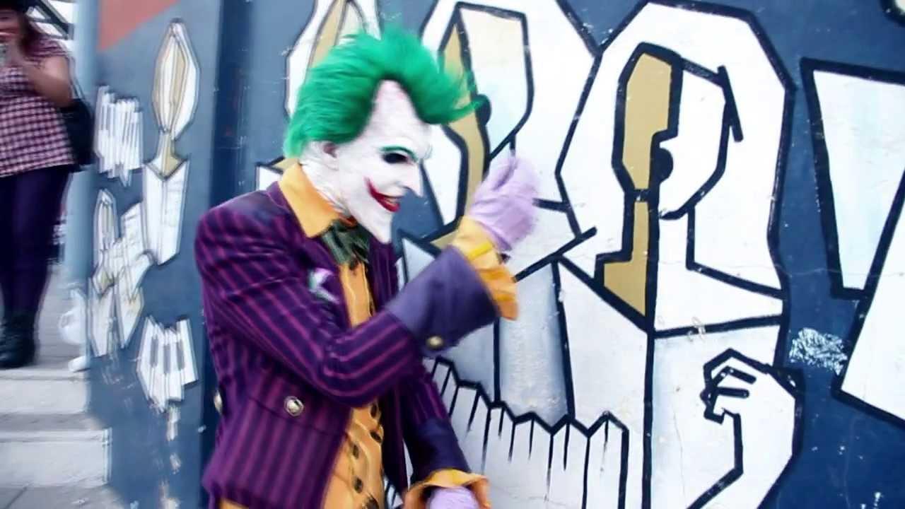 Arkham Joker Cosplay Joker Arkham Asylum Cosplay