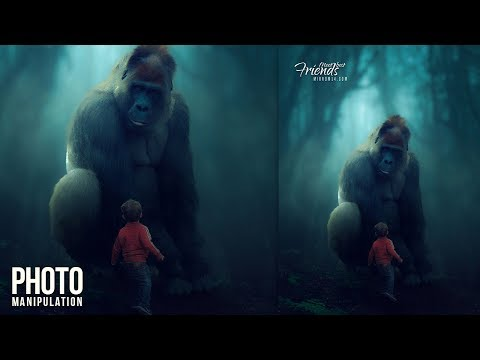 Make a Fantasy Photo Manipulation Photoshop CC Tutorial thumbnail