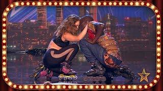 CÁDIZ, PARÍS y SENEGAL, unidos en un ESPECTÁCULO sobre PATINES | Inéditos | Got Talent España 2019
