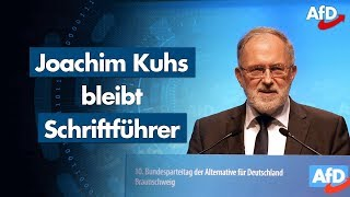 AfD-Parteitag | Joachim Kuhs Bewerbungsrede