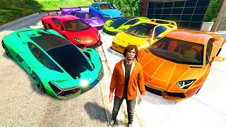 Collecting RARE LAMBORGHINI SUPER CARS In GTA 5 RP!