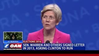 Complex History Between Elizabeth Warren and Hillary Clinton
