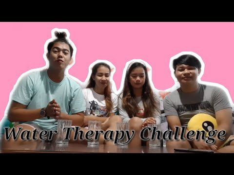 WATER THERAPY CHALLENGE |8th Vlog